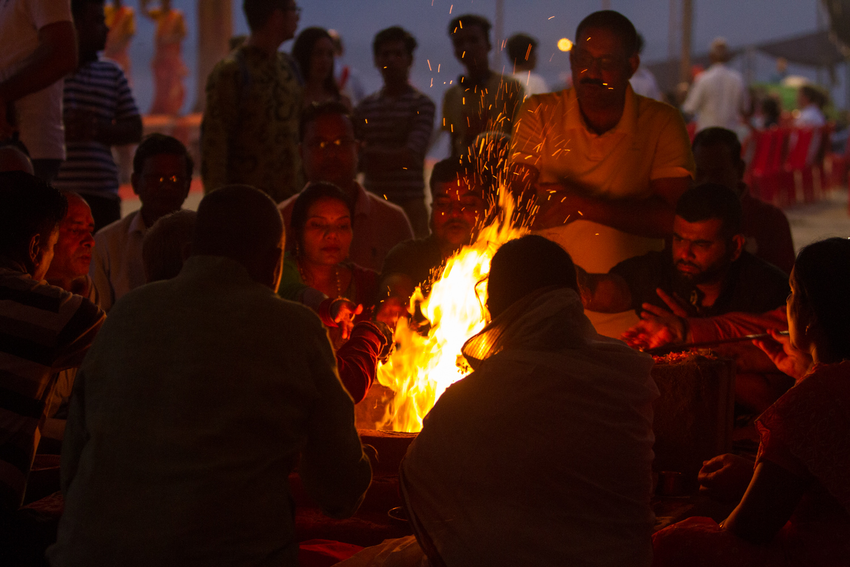 Varanasi au fil d'une journée