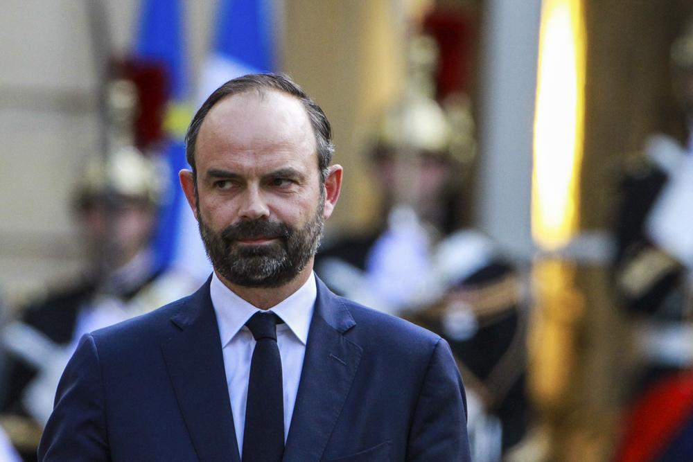 Edouard Philippe lors de son investiture, Paris - Mai 2017
