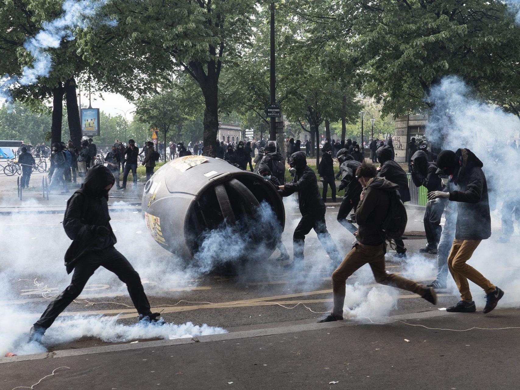 FRA - MANIFESTATION 1 Mai - PARIS