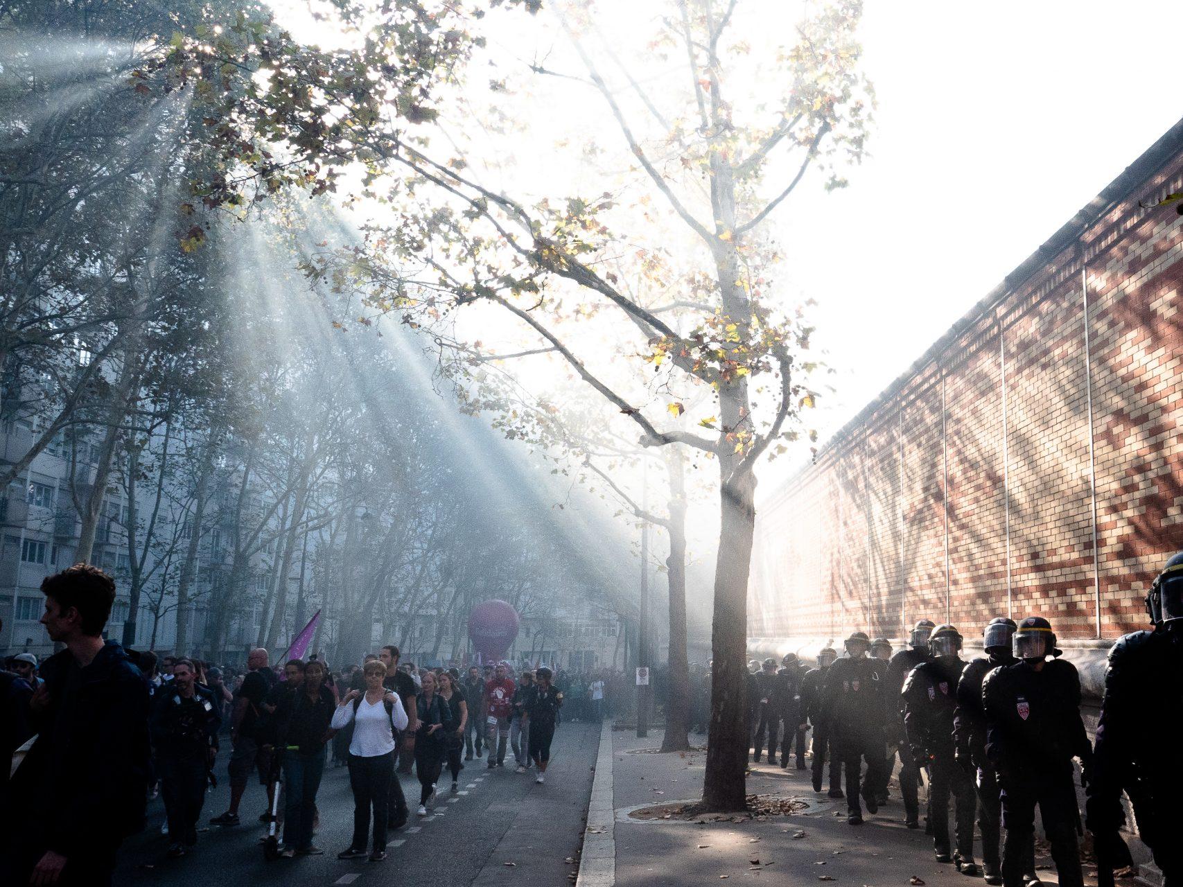 Manifestation Paris Octobre