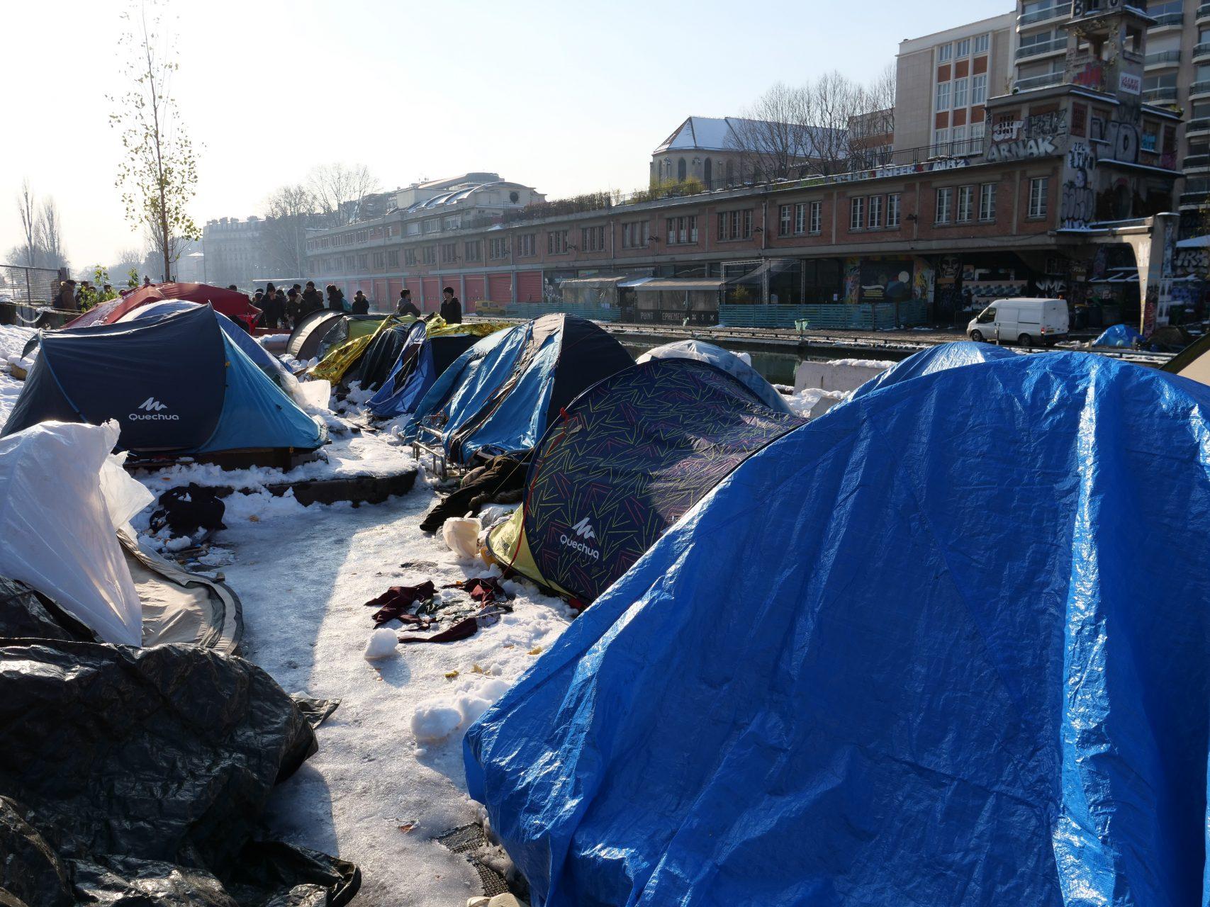 Les réfugiés de Stalingrad à Paris, février 2018
