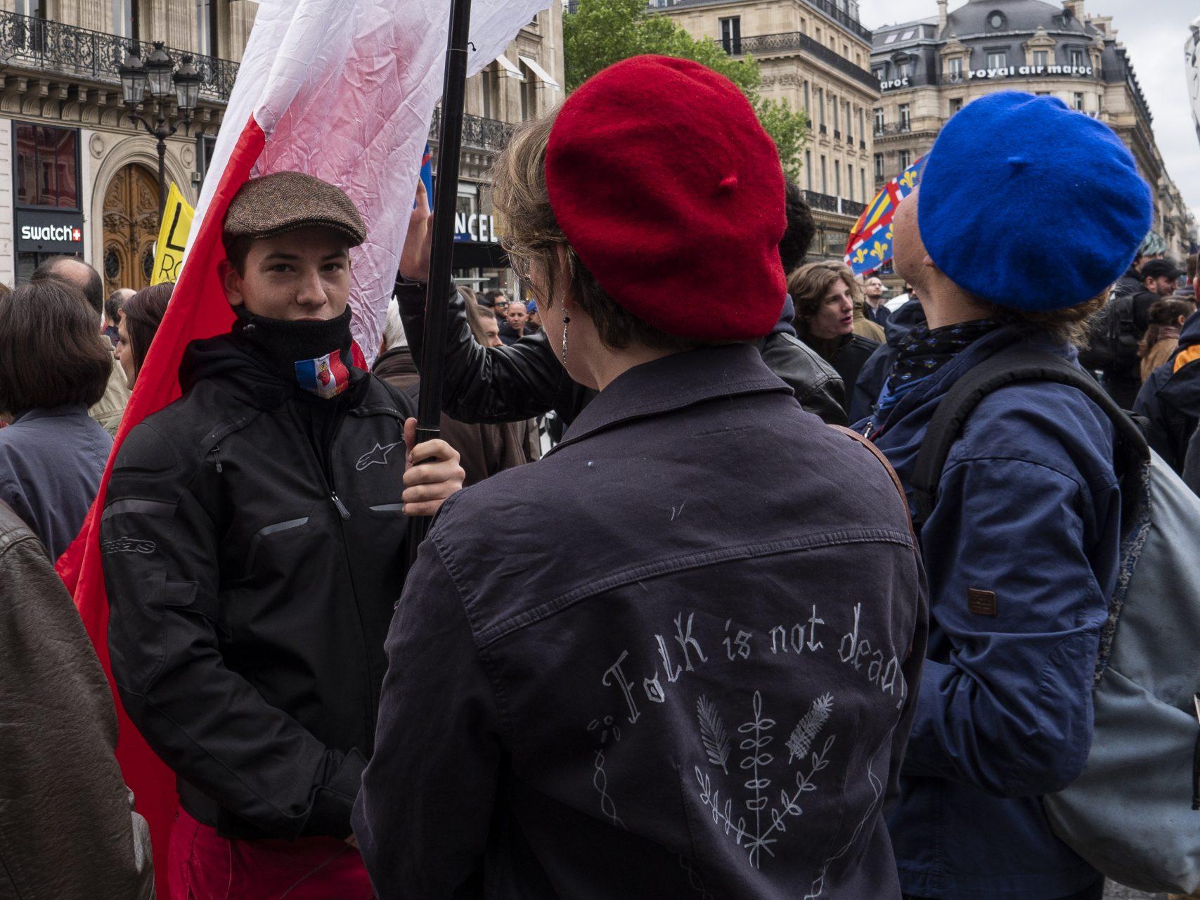 Hommage à Jeanne d'Arc par l'Action Française