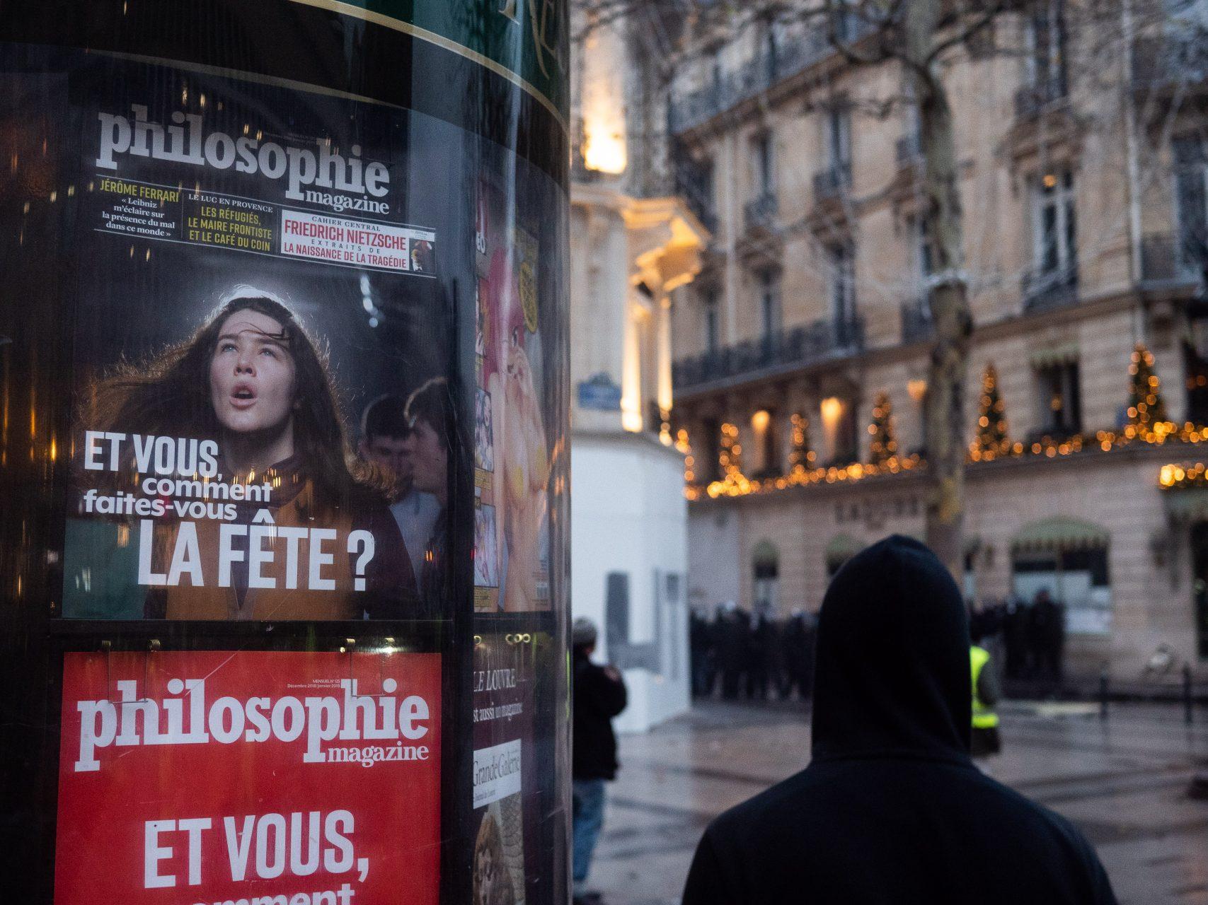 FRA - MANIFESTATION GILETS JAUNES- PARIS