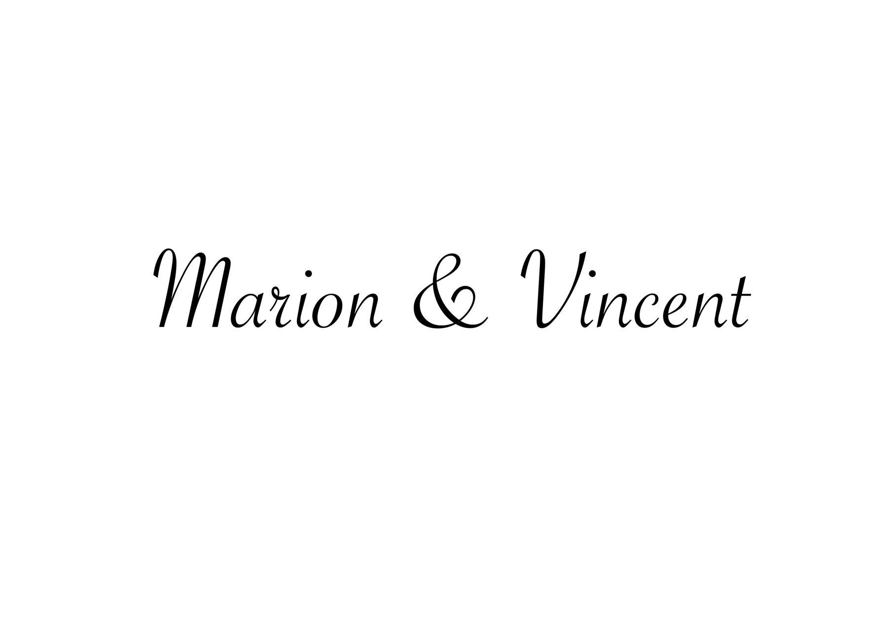 Marion&Vincent