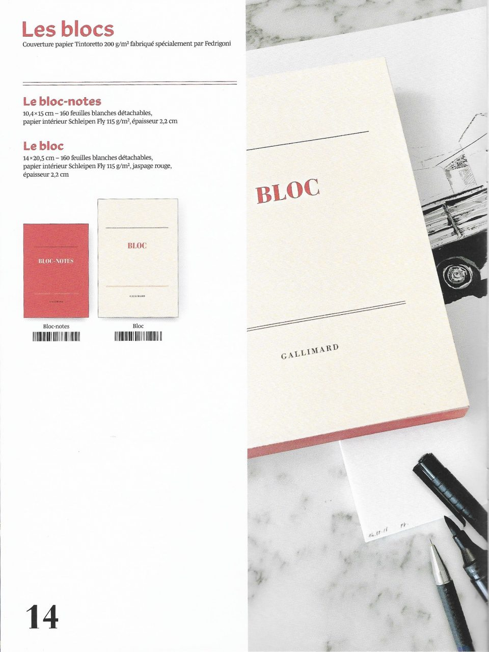 Catalogue des Editions Gallimard